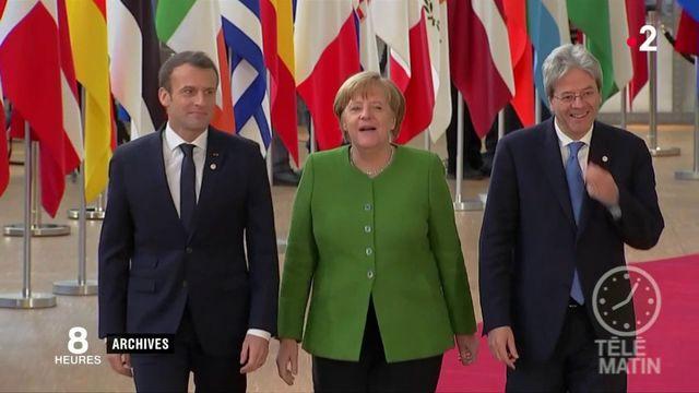 Europe : Emmanuel Macron va tenter de convaincre Angela Merkel