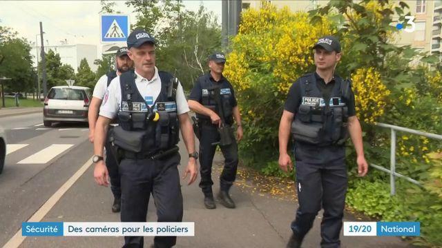 Sécurité : des caméras pour les policiers
