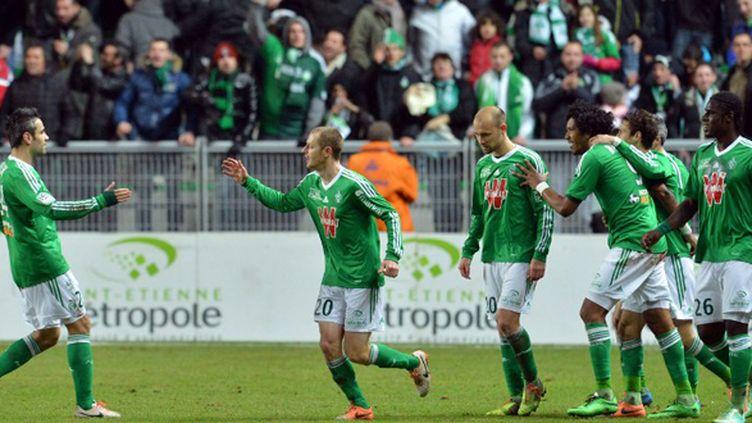 Saint-Etienne tombeur de Lille (2-0) (PHILIPPE MERLE / AFP)