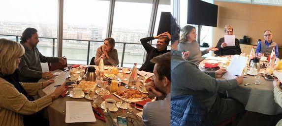 Le jury du Prix France Télévisions, janvier 2019