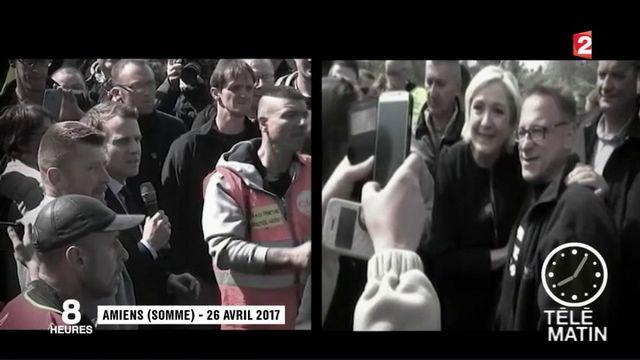 Amiens : Emmanuel Macron revient à l'usine Whirlpool