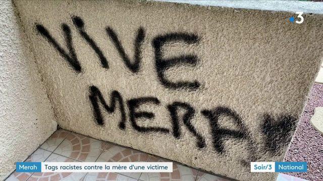 Affaire Merah : la mère d'une victime retrouve ses murs tagués