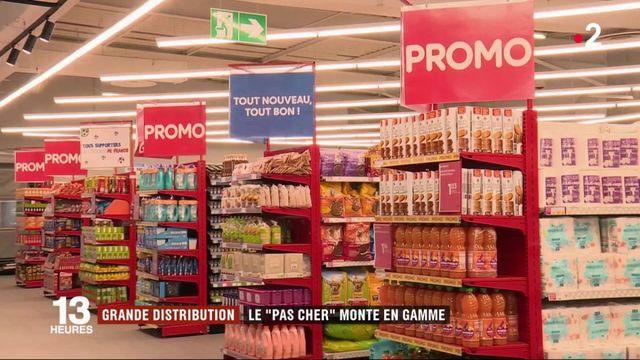 Grande distribution : le discount monte en gamme