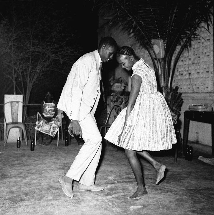 """""""Nuit de Noël"""" de Malick Sidibé (1963)  (Malick Sidibé )"""