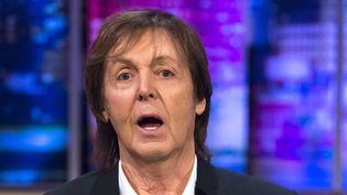 Paul McCartney au Jonathan Ross Show le 6 décembre 2014.  (Brian J Ritchie/Hotsauc/REX/SIPA)
