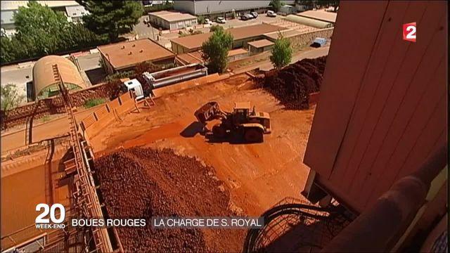 Boues rouges : la charge de Ségolène Royal