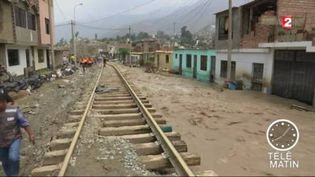 Des inondations meurtrières au Pérou (France 2)