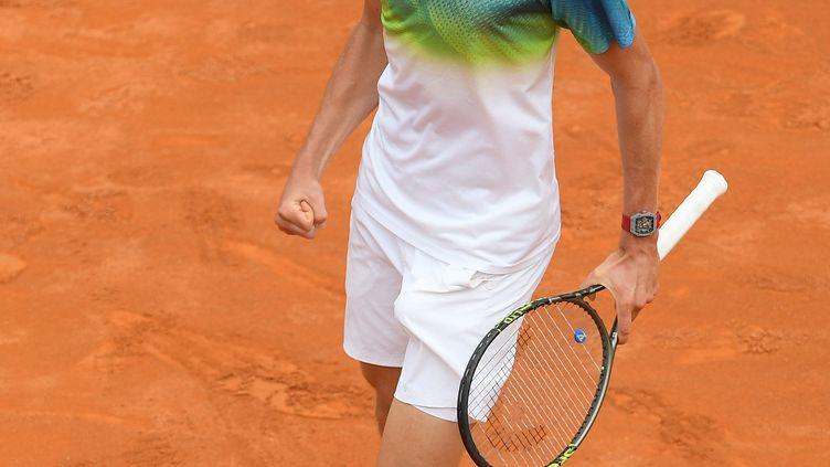 Le joueur allemand Alexander Zverev (CLAUDIO PASQUAZI / ANADOLU AGENCY)
