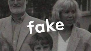 Le photomontage a été partagé plus de 13 000 fois sur Facebook (FRANCEINFO / RADIOFRANCE)