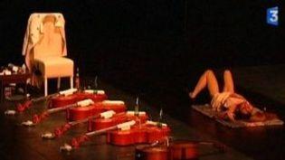 """Le spectacle choc d'Angélica Liddell au festival """"Mettre en scène""""  (Culturebox)"""