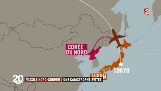 Corée du Nord : un missile passe à 150 km d'un vol Air France