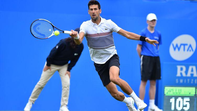 Le joueur de tennis serbe Novak Djokovic. (GLYN KIRK / AFP)