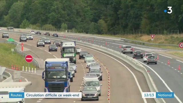 Départs en vacances : circulation chargée sur les routes ce week-end