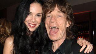 L'Wren Scott et Mick Jagger en mars 2006.  (Richard Young / Rex Fea/REX/SIPA)