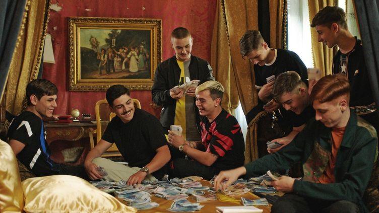 """Les jeunes napolitains fascinés par la mafia dans """"Piranhas"""" de Giovannesi, Prix du Jury au festival international du film policier de Beaune.  (2019 PROKINO)"""