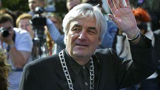 Le cinéaste polonaisAndrzej Zulawski au festival international du film de Moscou, le 2 juillet 2006. (MISHA JAPARIDZE / AP / SIPA)
