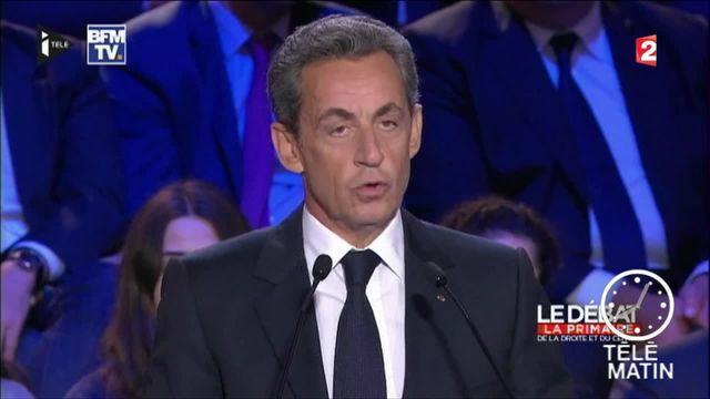 Primaire de la droite et du centre : Nicolas Sarkozy ciblé par les autres candidats