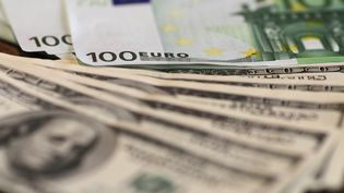 Un billet de 100 euros photographié le 29 avril 2010. (THOMAS COEX / AFP)