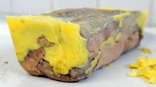Un foie gras sorti de son plat. (JEAN-FRANCOIS MONIER / AFP)