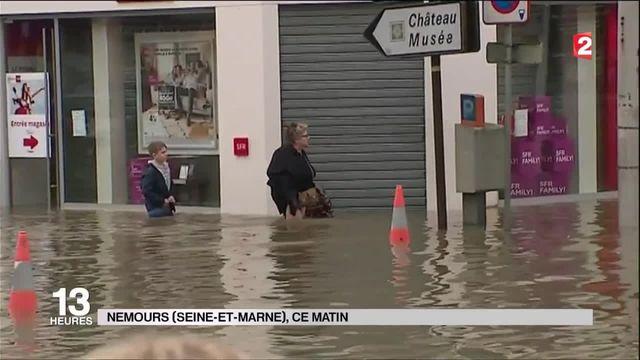 Inondations : le sud de la Seine-et-Marne sous l'eau