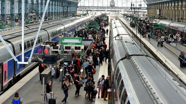 La gare de Bordeaux Saint-Jean, le 5 mai 2018. (NICOLAS TUCAT / AFP)