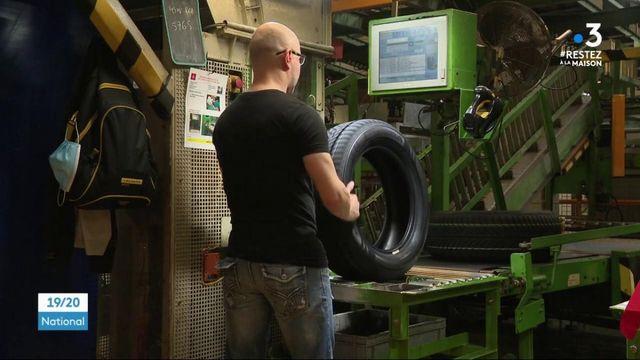 Déconfinement : l'usine Goodyear-Dunlop d'Amiens reprend avec une sécurité stricte