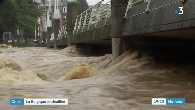 Inondations : scènes de chaos en Belgique, sévèrement frappée par les intempéries