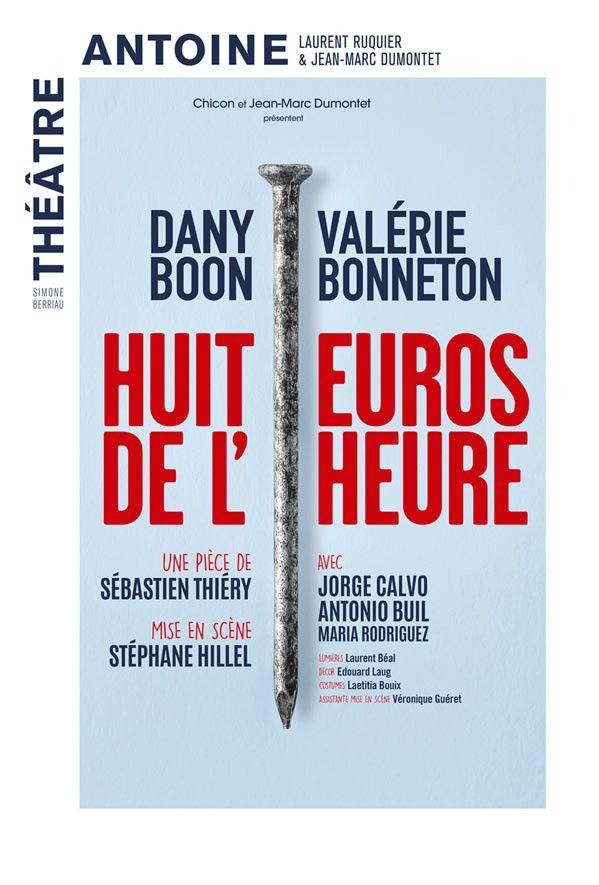 """L'affiche de """"Huit euro de l'heure"""""""