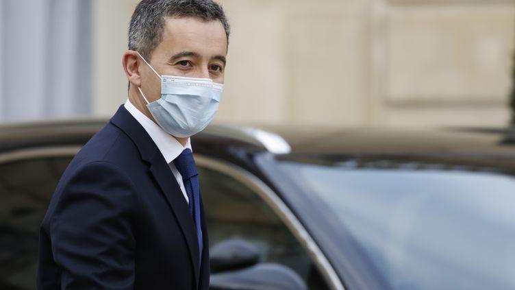 Le ministre de l'Intérieur, Gérald Darmanin, le 2 décembre2020, au palais de l'Elysée, à Paris. (THOMAS COEX / AFP)