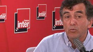 Arnaud Fontanet, épidémiologiste à l'Institut Pasteur, membre du Conseil scientifique sur le Covid-19, est l'invité de France Inter, le 6 juillet 2020. (FRANCEINTER / RADIOFRANCE)