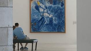 """""""De la chapelle au musée, la création du Message Biblique"""", jusqu'au 15 octobre 2018 au musée national Marc Chagall à Nice  (Culturebox - capture d'écran)"""