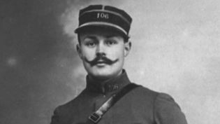 Maurice Genevoix lors de la Première guerre Mondiale  (France 3 / Culturebox / capture d'écran)