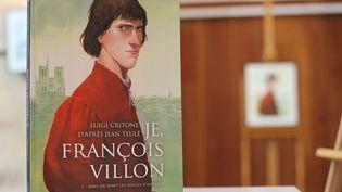 Je, François Villon. Luigi Critone, Jean Teulé. Editions Delcourt.  (Francis Forget)
