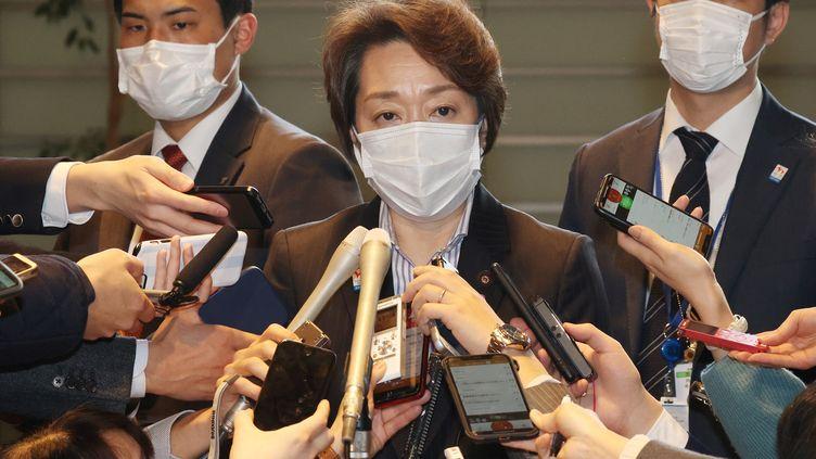 Seiko Hashimoto s'est vue confier la présidence du comité d'organisation des JO de Tokyo 2020. (MASNORI GENKO / YOMIURI)