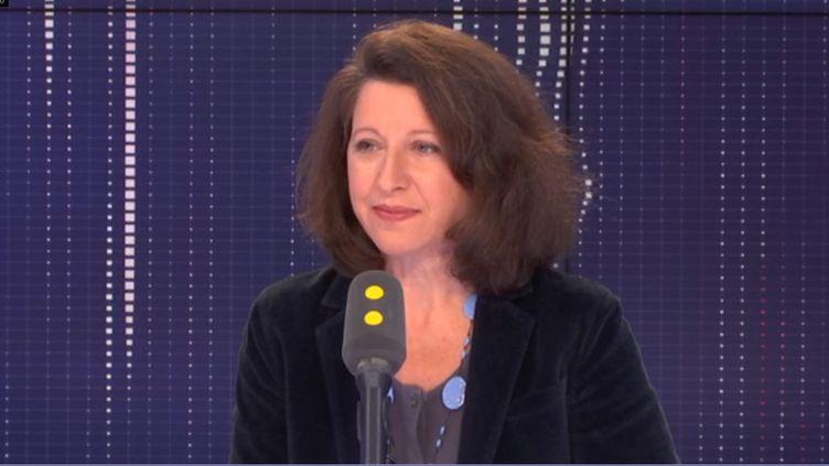 Agnès Buzyn, ministre des Solidarités et de la Santé, était l'invitée de franceinfo le vendredi 8 mars 2019 (FRANCEINFO / RADIOFRANCE)