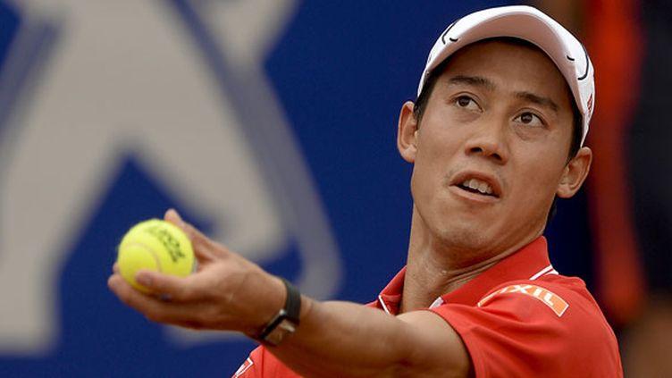 Le joueur japonais Kei Nishikori (JOSEP LAGO / AFP)