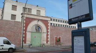 La maison d'arrêt d'Amiens (Somme), d'où trois hommes se sont évadés mercredi 4 novembre 2015. (MAXPPP)