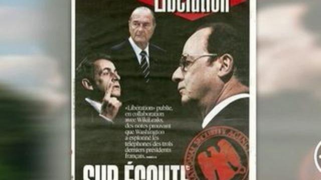 Trois présidents français espionnés par les services secrets américains