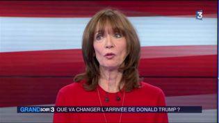 Nicole Bacharan, politologue et spécialiste des États-Unis. (FRANCE 3)