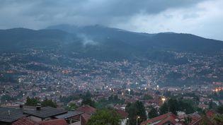 La ville de Sarejevo (Bosnie-Herzégovine), le 21 juillet 2020. (MANUEL COHEN / AFP)