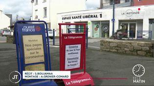 Plusieurs cas ont été détéctés à Auray. (France 2)