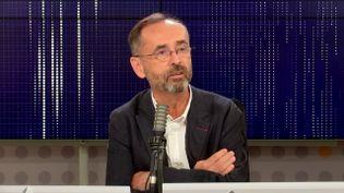 Robert Ménard, maire de Béziers,sur franceinfo jeudi 7 octobre. (FRANCEINFO / RADIO FRANCE)