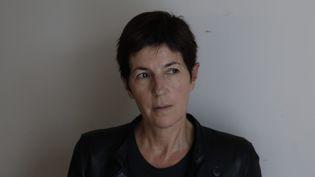 """Christine Angot Prix Décembre 2015 avec """"Un amour impossible""""  (Olivier Corsan / Le Parisien / PhotoPQR / MAXPPP)"""