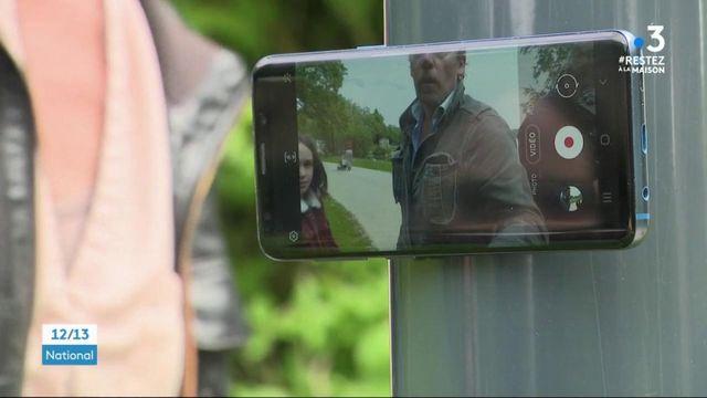 Eure : le comédien Francis Renaud a tourné un film au smartphone pendant le confinement
