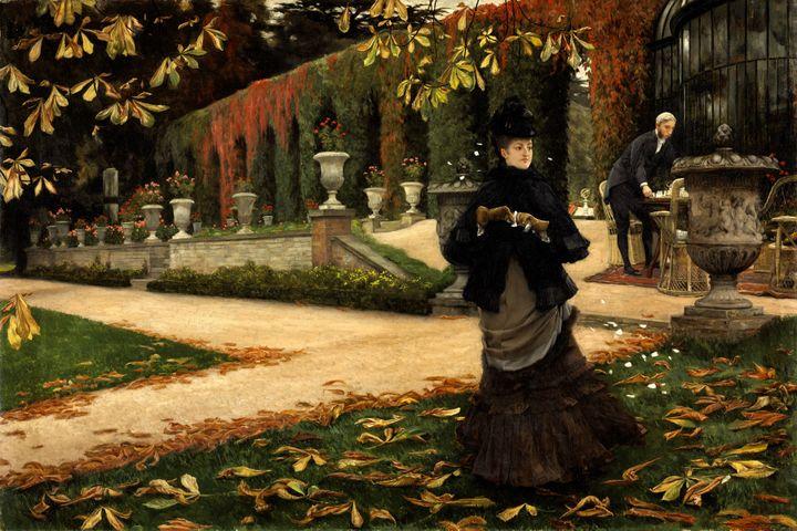 """James Tissot, """"La réponse (La lettre)"""", 1874, Musée des beaux-arts du Canada, Ottawa Photo (© MBAC)"""