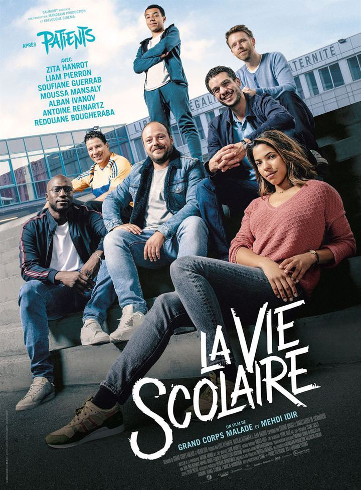 """L'affiche de """"La Vie scolaire"""" deGrand Corps Malade et Mehdi Idir. (GAUMONT DISTRIBUTION)"""