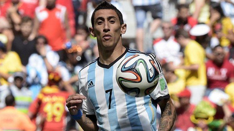 Angel Di Maria sous le maillot argentin (JUAN MABROMATA / AFP)
