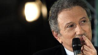 Michel Drucker, le 14 janvier 2011,à Paris. (JOEL SAGET / AFP)