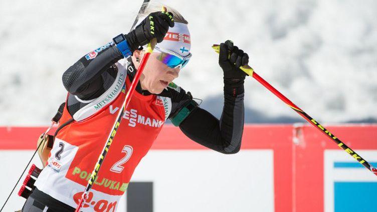Kaisa Mäkäräinen (RENE GOMOLJ / AFP)