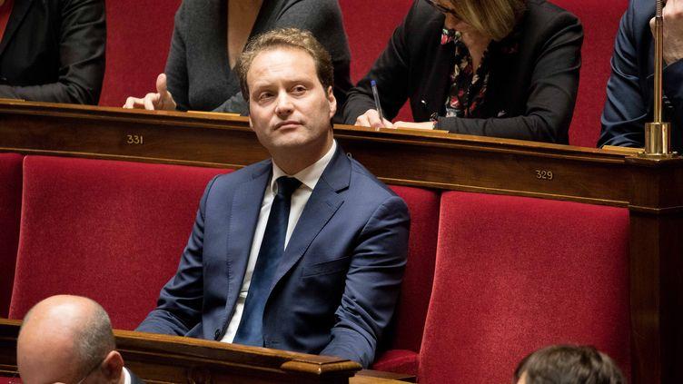 Sylvain Maillard, à l'Assemblée nationale, le 15 novembre 2017. (MAXPPP)